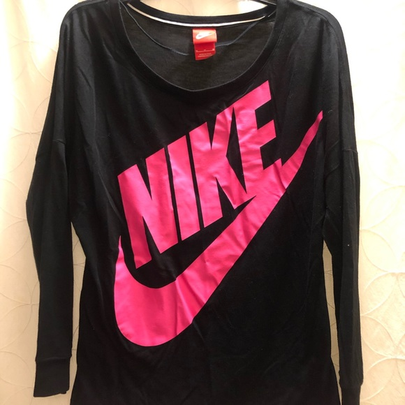 Nike Tops - Nike Pink & Black Top - Excellent Condition, M